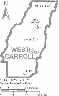 west-carroll-louisiana-cities-towns-epps-kilbourne-oak-grove-parish-seat-pioneer